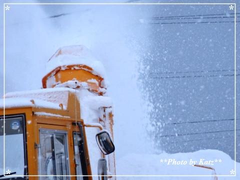 ロータリー除雪 (3)
