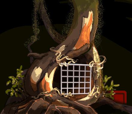 夜の森1h