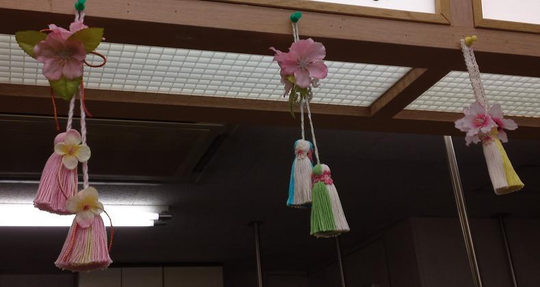 桜のタッセル (2)