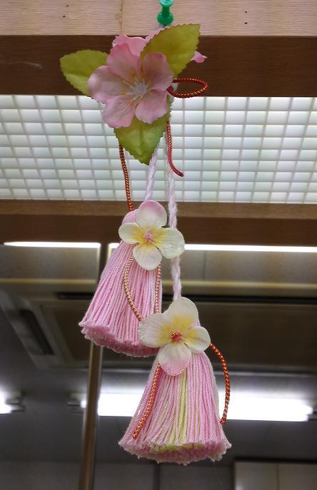 桜のタッセル (3)
