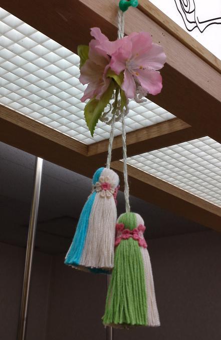 桜のタッセル (4)