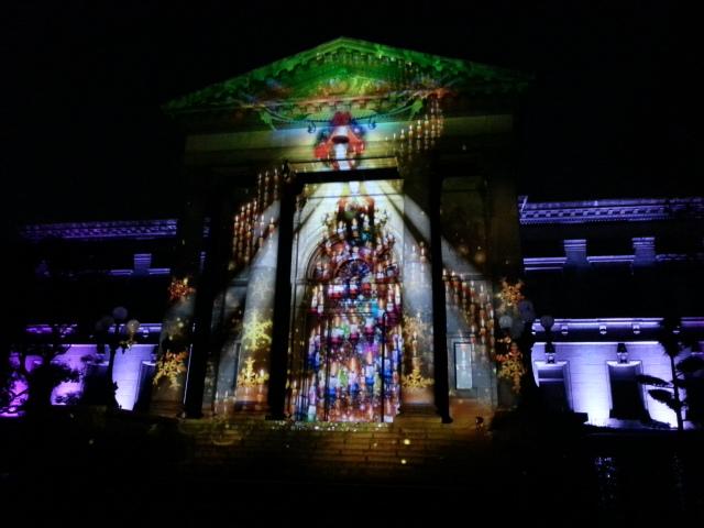OSAKA 光のルネサンス2012 シャイニング・アートウォール3