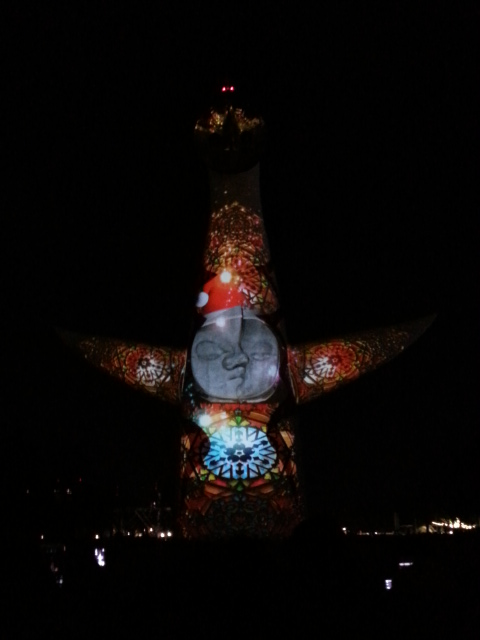 イルミナイト万博 X'mas2012 太陽の塔3