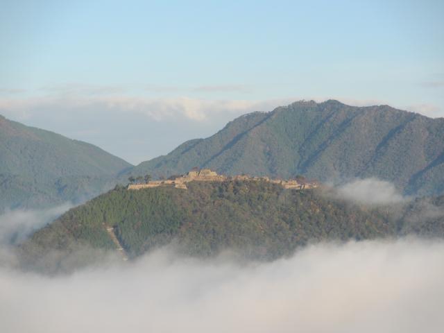 立雲峡から竹田城跡11