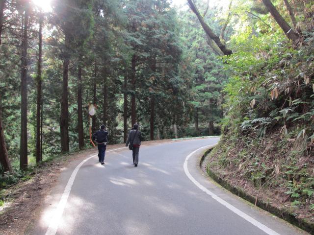 竹田城跡 到着まで2