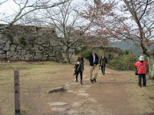 竹田城跡4(三の丸)