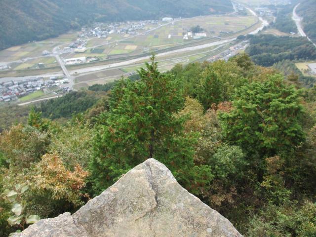 竹田城跡17(南千畳の端)