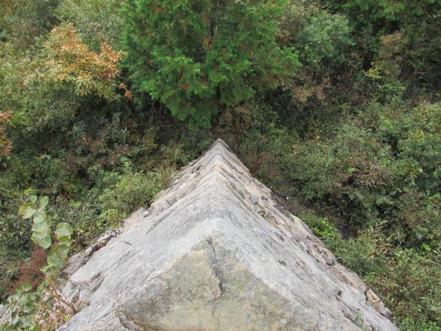 竹田城跡18(南千畳の端2)