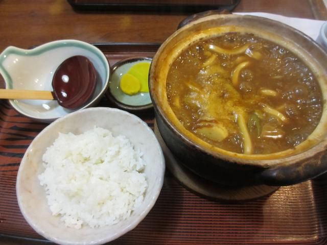 岡崎屋 本店 カレー煮込み定食