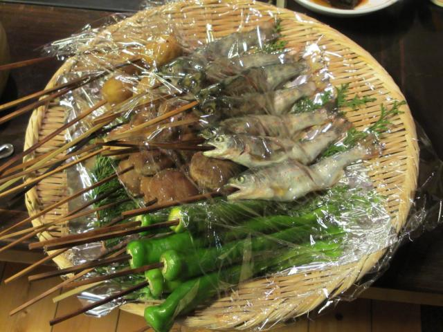 不動温泉 華菱 夕食2