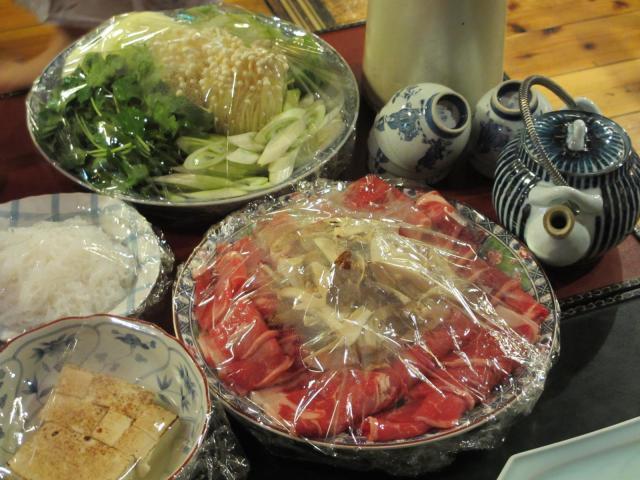不動温泉 華菱 夕食3