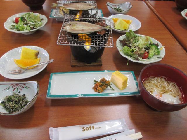 不動温泉 華菱 朝食3