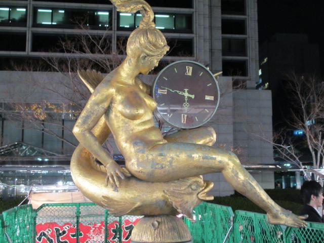 ルミナリエ マリーナ像