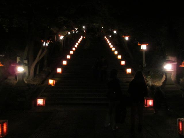 嵐山花灯路2012 法輪寺2