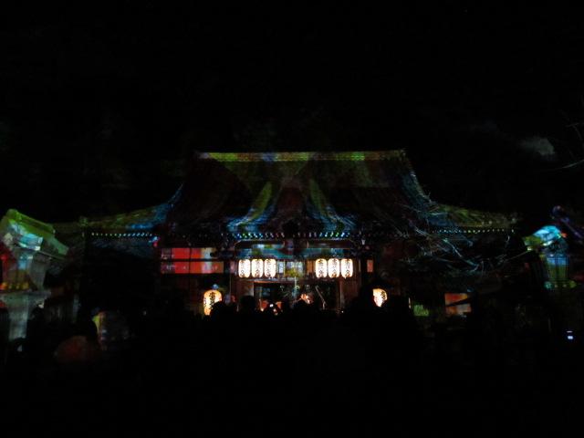 嵐山花灯路2012 法輪寺3