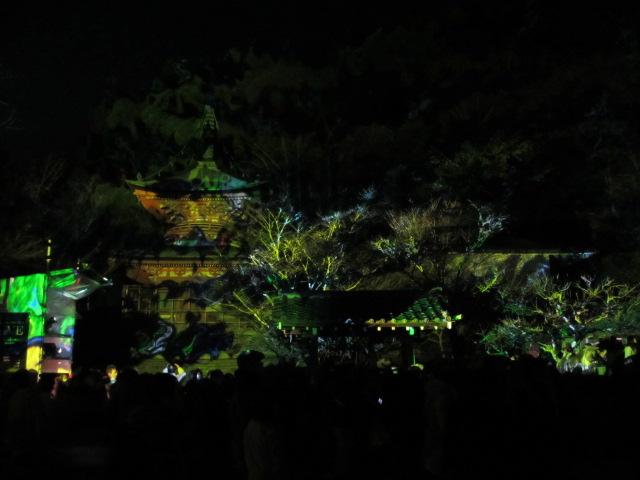 嵐山花灯路2012 法輪寺4