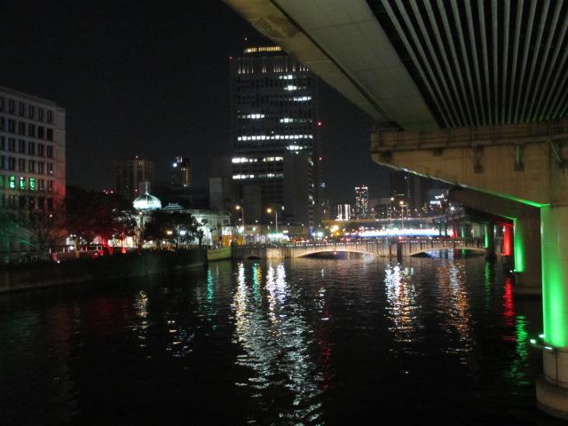 OSAKA 光のルネサンス2012 帰り道