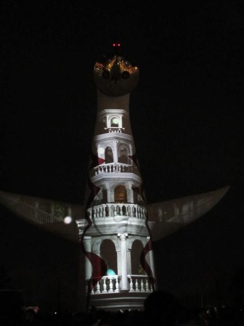 イルミナイト万博 X'mas2012 太陽の塔1