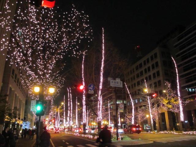 御堂筋イルミネーション2012