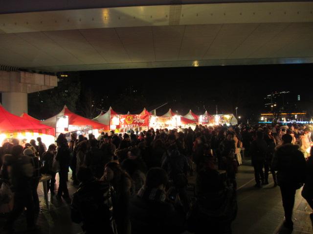 OSAKA 光のルネサンス2012 東会場 フードコート