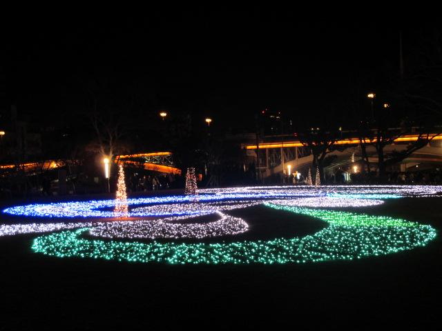 OSAKA 光のルネサンス2012 東会場 水ものがたり2