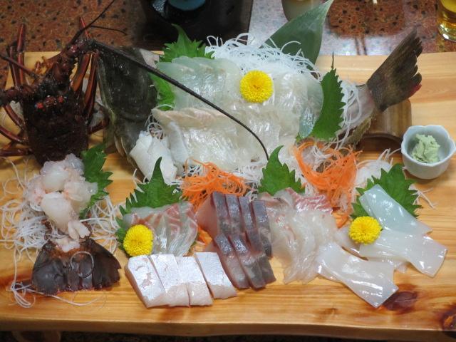 日間賀島 年末年始 食事4