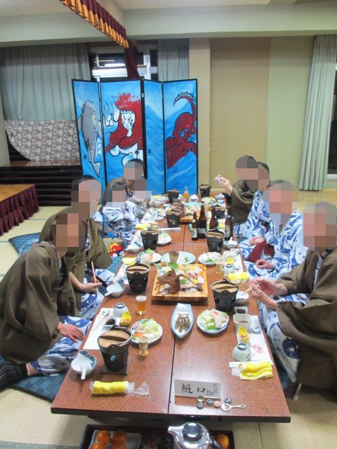 日間賀島 年末年始旅行8