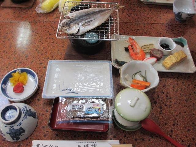 日間賀島 年末年始 食事21