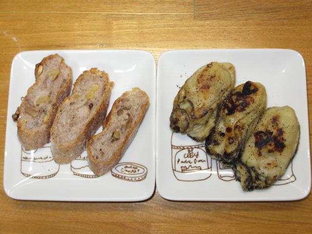 室津2013 カリカリ牡蠣のガーリック焼き