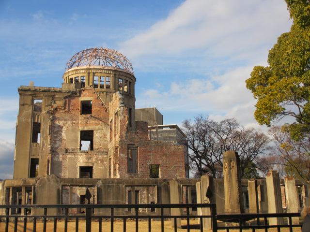広島観光と宮島かき祭りの旅 原爆ドーム