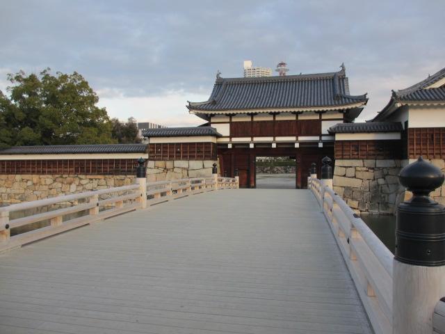 広島観光 広島城1