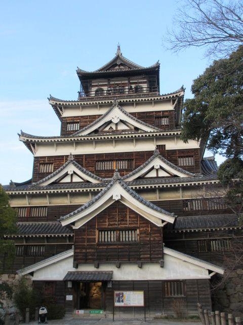 広島観光と宮島かき祭りの旅 広島城