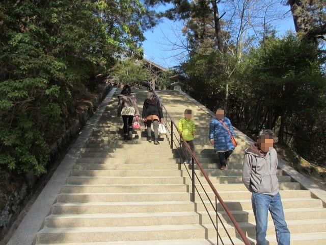 厳島神社 五重塔へ6