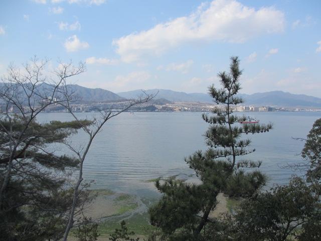 厳島神社 五重塔へ9