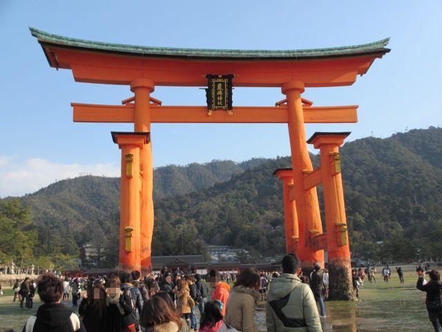 厳島神社 大鳥居2