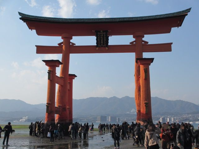 厳島神社 大鳥居4