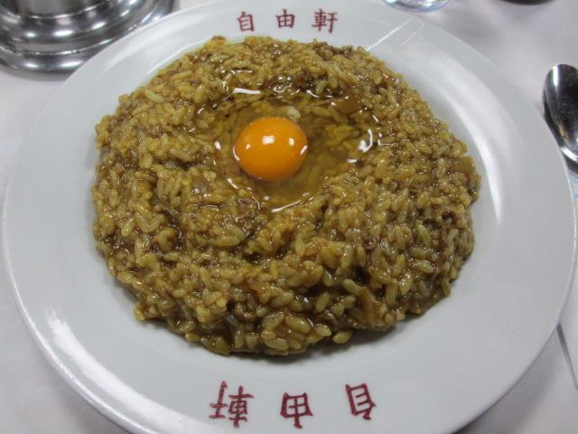 大阪難波 自由軒 難波本店 名物カレー