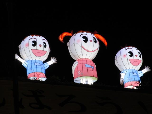 芝桜の小道(夜)9