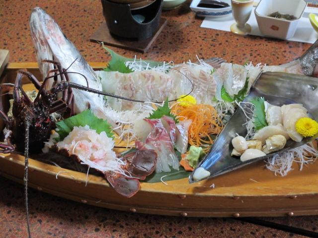 日間賀島(大陽荘) 舟盛り2