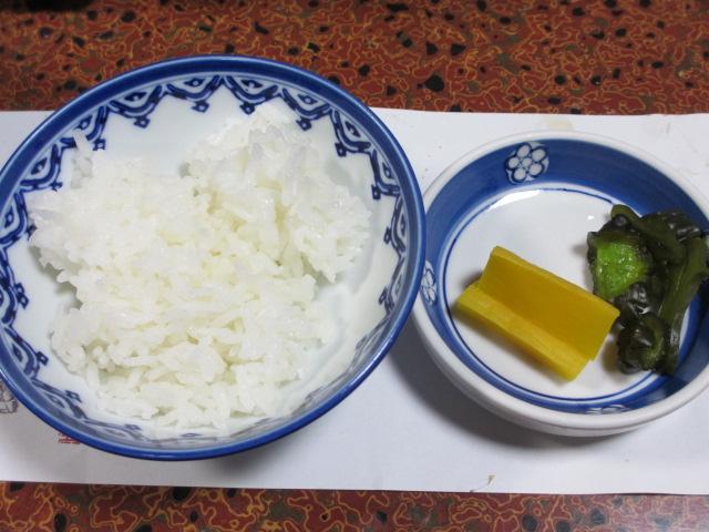 日間賀島(大陽荘) ご飯