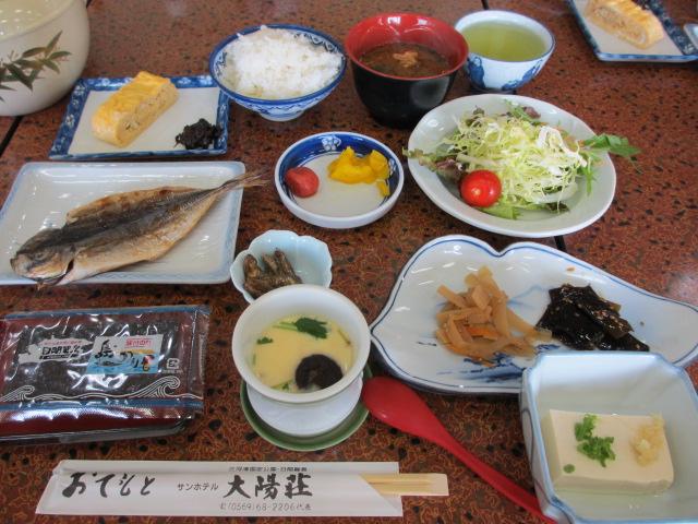 日間賀島(大陽荘) 朝食