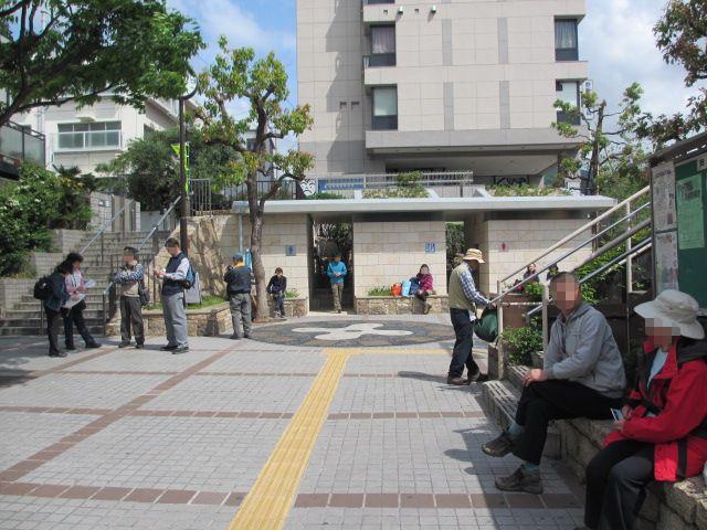 六甲山2012春(その1 芦屋川駅~風吹岩編) 芦屋川駅2