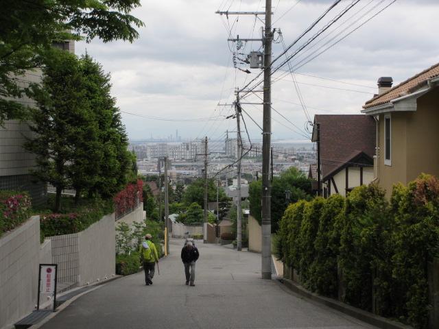六甲山2012春(その1 芦屋川駅~風吹岩編) 高座の滝まで7