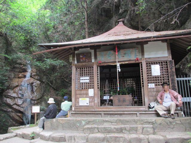 六甲山2012春(その1 芦屋川駅~風吹岩編) 高座の滝3