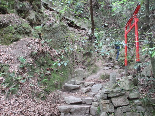 六甲山2012春(その1 芦屋川駅~風吹岩編) 高座の滝4