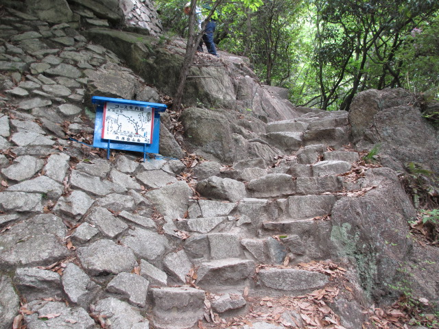 六甲山2012春(その1 芦屋川駅~風吹岩編) ロックガーデン
