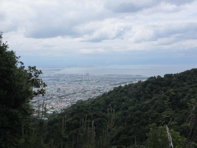 六甲山2012春(その1 芦屋川駅~風吹岩編) 鉄塔2