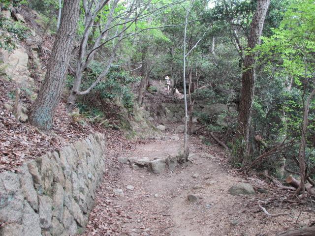 六甲山2012春(その1 芦屋川駅~風吹岩編) 風吹岩まで6
