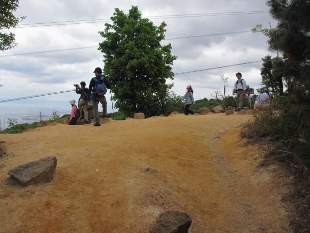 六甲山2012春(その1 芦屋川駅~風吹岩編) 風吹岩まで16