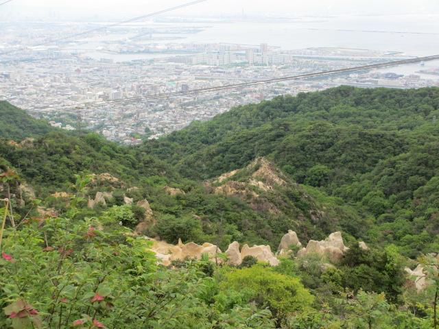 六甲山2012春(その1 芦屋川駅~風吹岩編) 風吹岩まで17